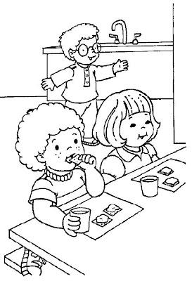 planse de desenat gradinita