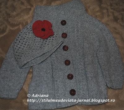 jerseu tricotat raglan