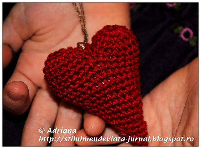 inima crosetata