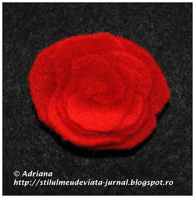 trandafir fetru