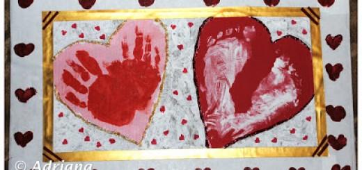 tablou cu inimioare pentru tati