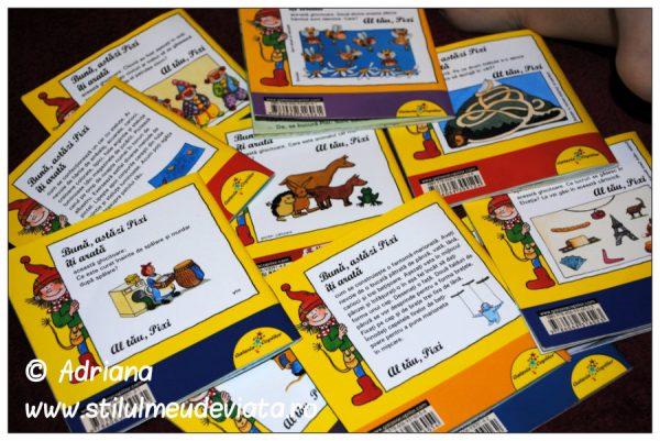 colectia de carti pixi, activitati