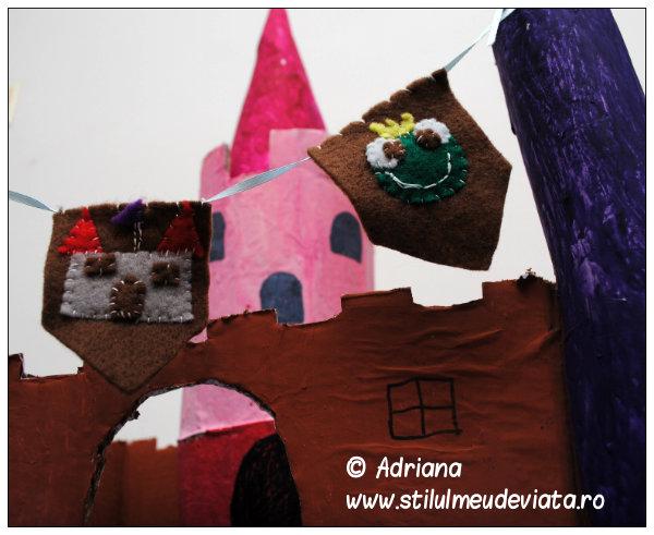 Castel din materiale reciclabile