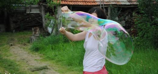 baloane uriase de sapun