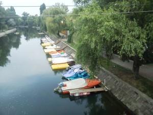 timisoara, râul bega