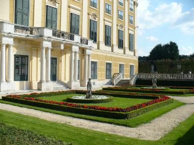 gradinile palatului Schonbrunn