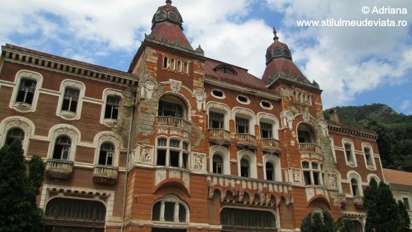 Hotel Dacia din Baile Herculane
