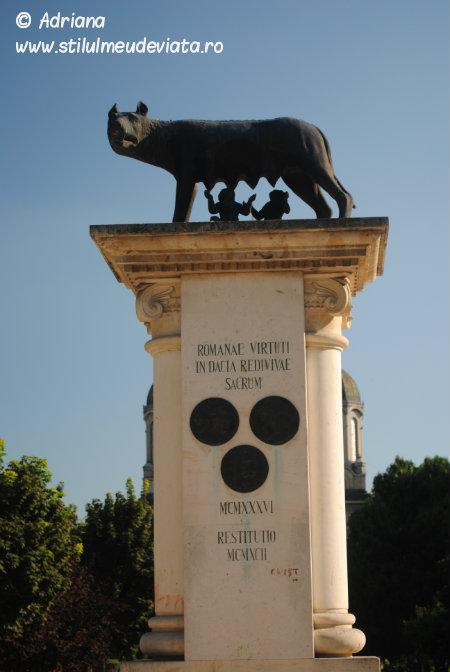 statuia lupoaica satu mare
