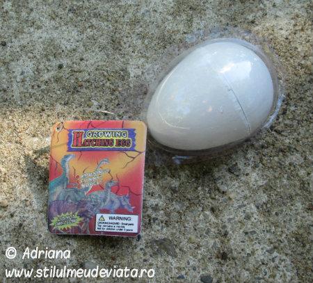ou de dinozaur, jucarie pentru copii