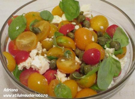 salata de rosii cherry