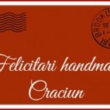 felicitari handmade Craciun