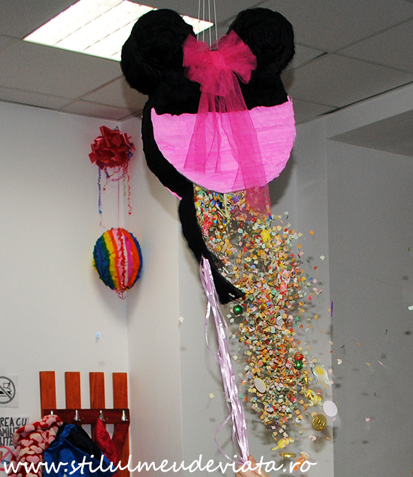 pinata Minnie Mouse