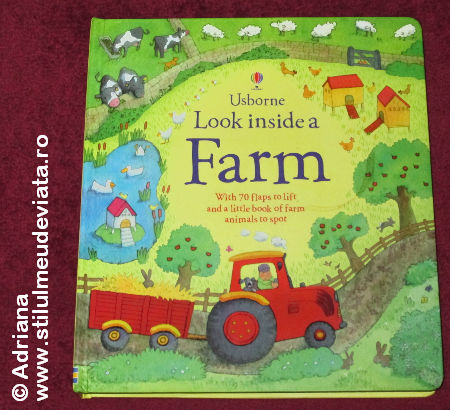 look inside a farm, Usborne