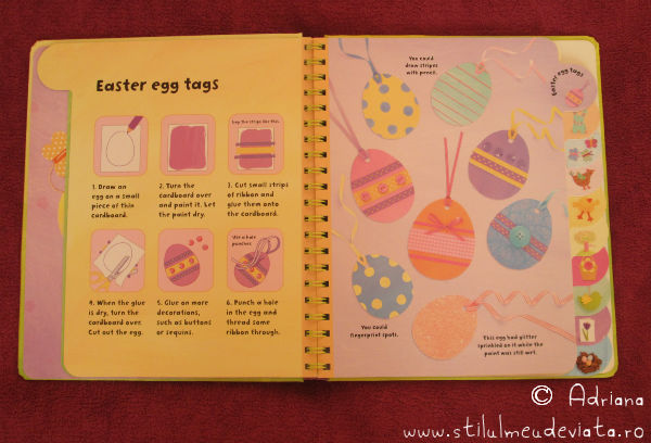 Easter fun, oua din carton