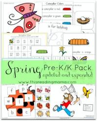 Spring-PreK-K-Pack