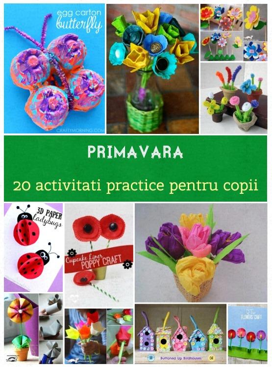 activitati de primavara pentru copii
