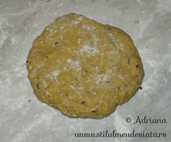 biscuiti dietetici cu turmeric si seminte