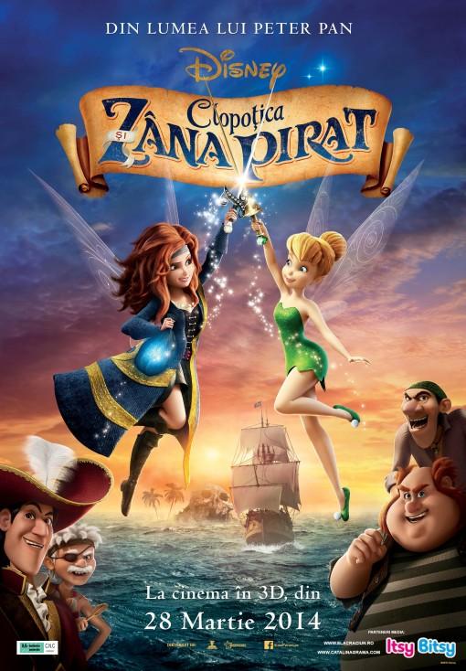 Clopotica si Zana Pirat