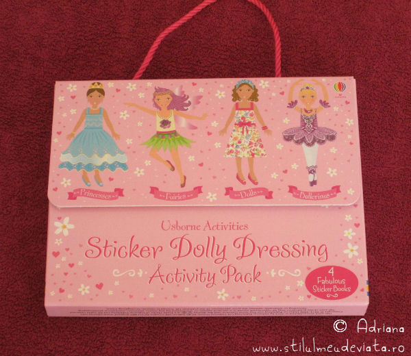 Sticker Dolly Dressing, editura Usborne