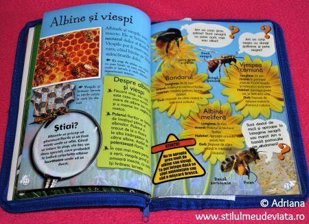 Albine si viespi, cartea Viata in salbaticie