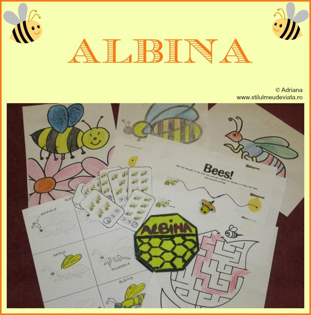 albina - activitati pentru copii