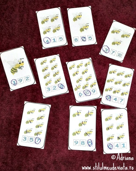 cartonase cu albine