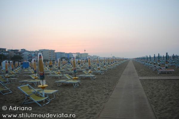 plaja din Bibione, Italia