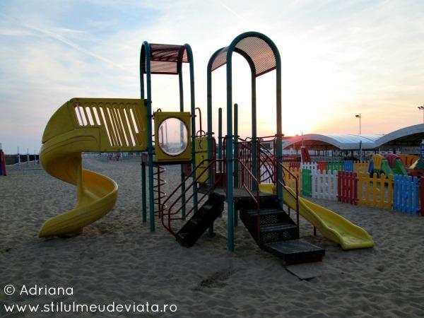 locuri de joaca pe plaja, Bibione