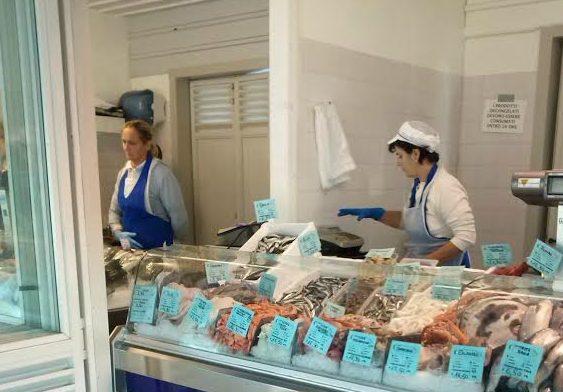 Piata de peste din Bibione, Italia