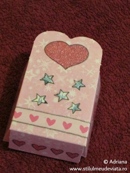 decupaj - cutie pentru cadou