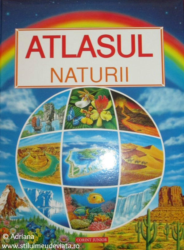Atlasul naturii, editura Corint Junior