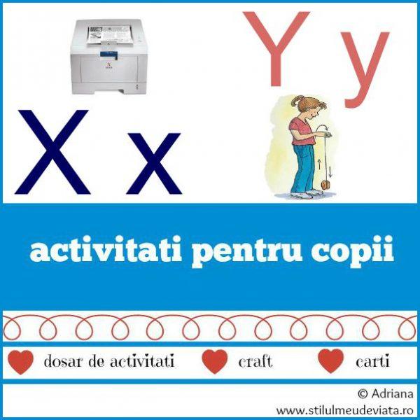 literele X si Y