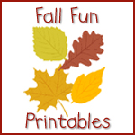 Fall Fun Printables
