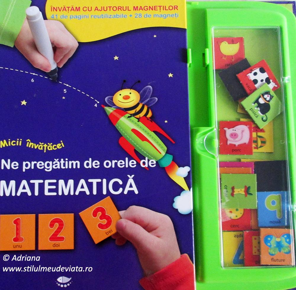 Ne pregătim de orele de matematică, editura Prut