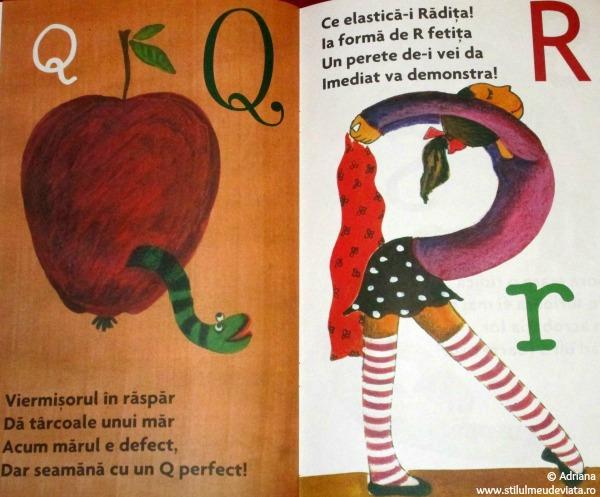 alfabetul desenat mai usor de invatat