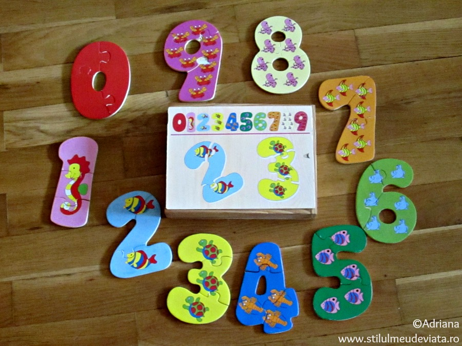 puzzle cifre