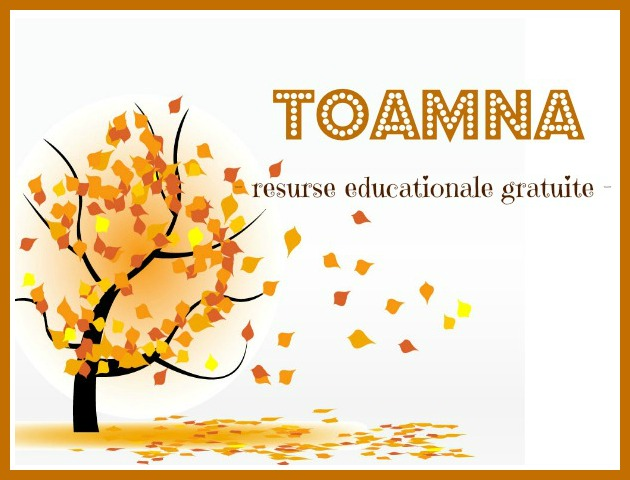 TOAMNA resurse educationale gratuite