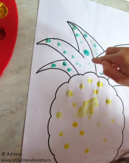 dactilopictura ananas
