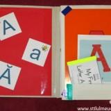 litera a - dosar cu activitati