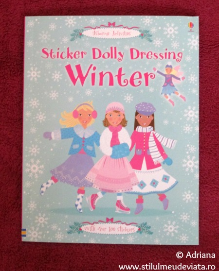 Sticker Dolly Dressing Winter