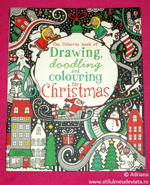 The Usborne book of drawing, doodling and colouring for Christmas