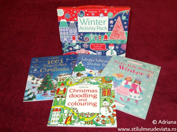 Winter Activity Pack, editura Usborne