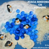 joaca senzoriala cu pinguini