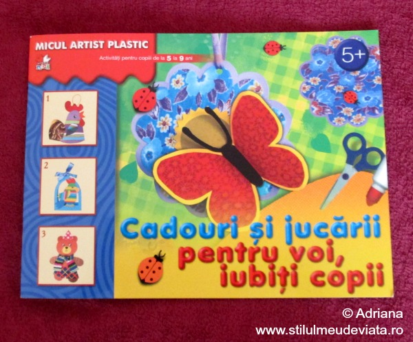 Cadouri si jucarii, colectia Micul artist plastic