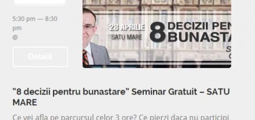 seminar gratuit Eusebiu Burcas