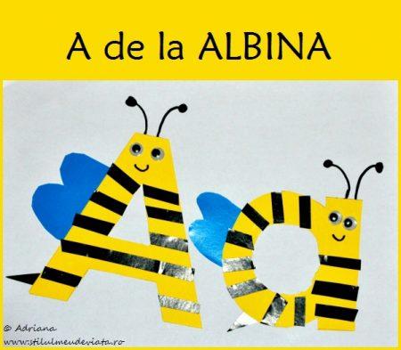 Litera A de la ALBINA