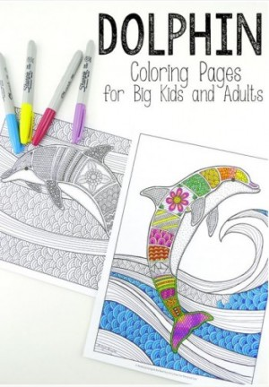 Free-Printable-Dolphin-Coloring-Pages-for-Adults