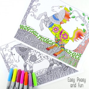 Free-Printable-Horse-Coloring-Pages