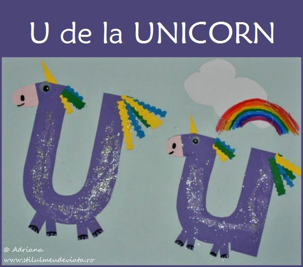 Litera U, unicorni
