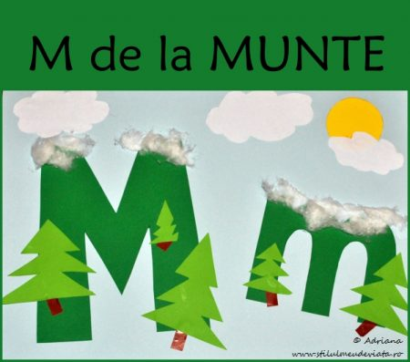 Litera M de la MUNTE